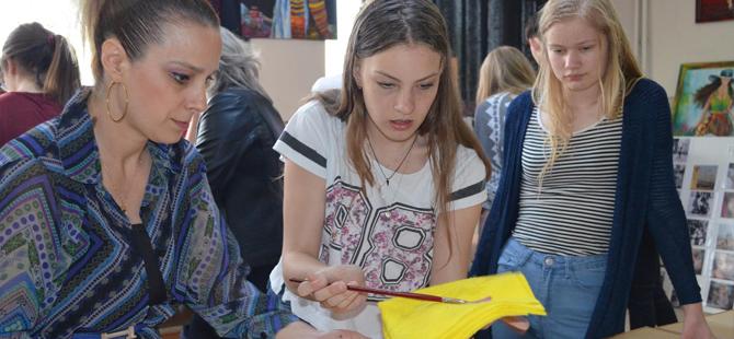 Yabancı öğrencilere Bafra tanıtıldı