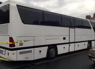 Geri gelen otobüs vatandaşı ezdi