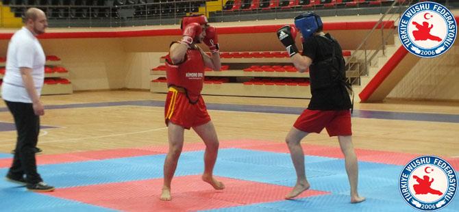 Wushu sporunda dostluk finali