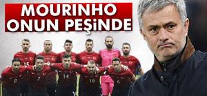 Mourinho gözü Türk futbolcuda