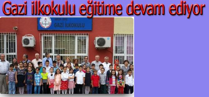 Gazi ilkokulu eğitime devam edecek