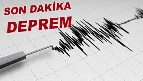 Bafra'da deprem