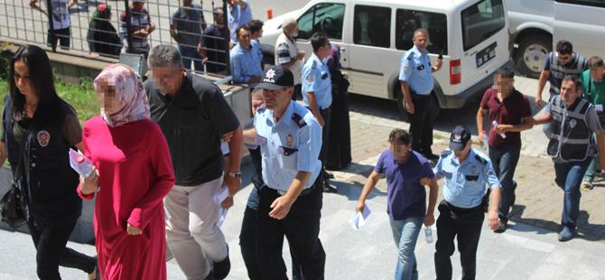 Ayvacık'da Fetö operasyonu 14 gözaltı