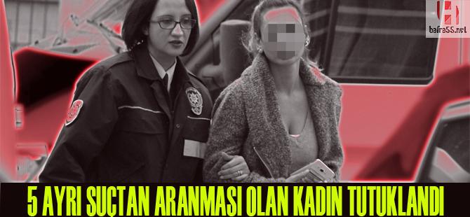 5 ayrı suçtan aranan kadın sahte kimlikle yakalandı