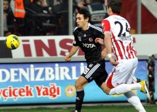 Samsunspor: 1 - Beşiktaş: 1