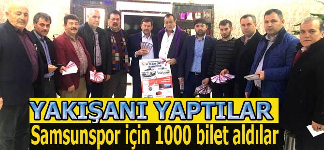 İş adamlarından Samsunspor'a destek