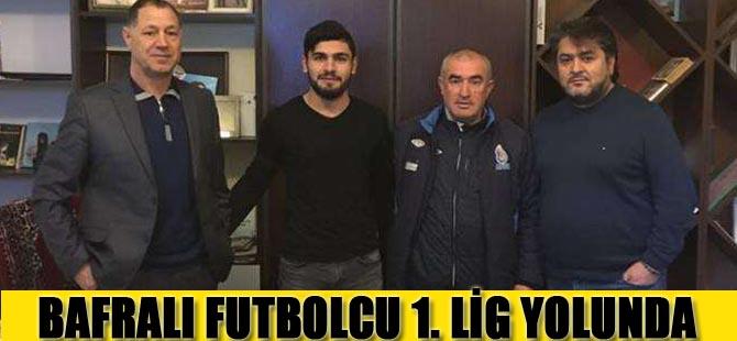 Bafralı Futbolcu 1.Lige Transfer oldu