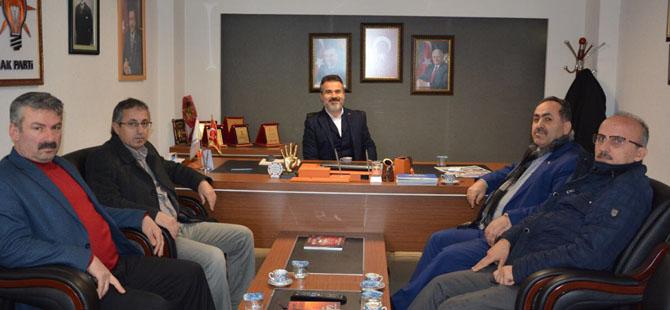 Suat Kılıç'tan 19 Mayıs AK Parti ilçe teşkilatına ziyaret