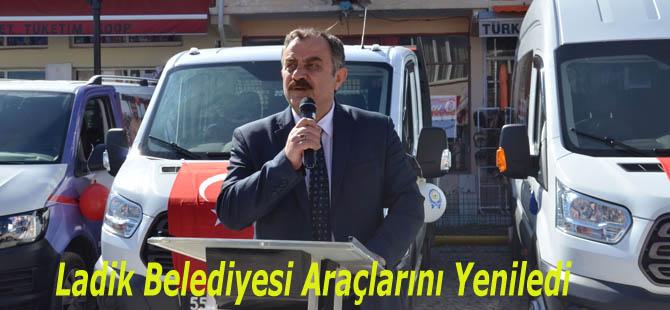 Ladik Belediyesi Araç Filosunu Yeniledi