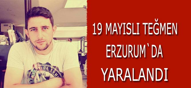 19 Mayıslı teğmen Erzurum`da yaralandı