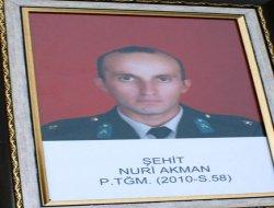 Vezirköprü'lü Şehit Teğmen Nuri Akman Yolculuğuna Uğurlandı