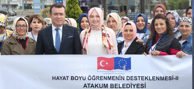 """""""ÜRETEN KADIN GÜÇLÜ ATAKUM PROJESİ"""" KÜTAHYA'DA"""