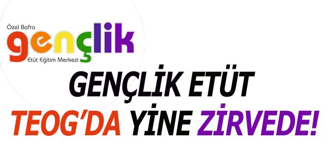 GENÇLİK ETÜT TEOG'DA YİNE ZİRVEDE!