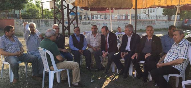 MHP Samsun İl Başkanlığından şehit ailesine ziyaret