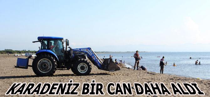 Samsun'da Deniz Bir Can Daha Aldı