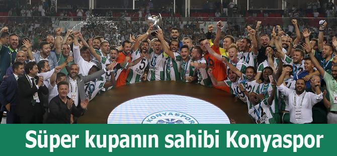 Süper kupanın sahibi Konyaspor