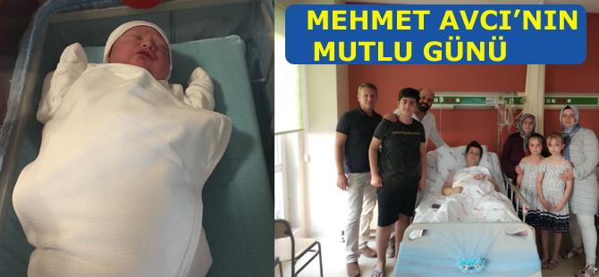 Mehmet Avcı'nın mutlu günü