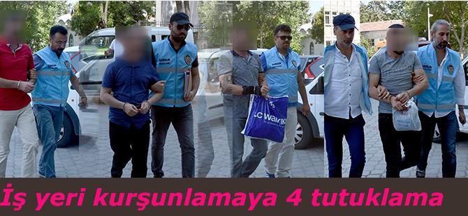 İş yeri kurşunlamaya 4 tutuklama
