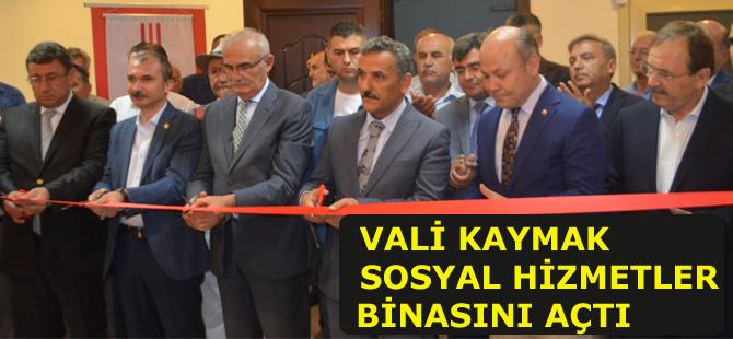 Bafra Sosyal Hizmet Merkezi açılışını Vali Kaymak yaptı