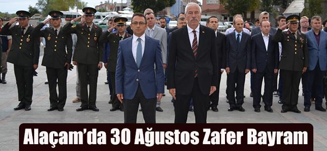 Alaçam'da 30 Ağustos Zafer Bayramı'nın 95. Yıl Dönümü Törenlerle Kutlandı