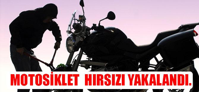 4 Motosiklet çaldı; Yakalandı.