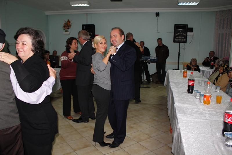 75.yıl BAFRA HUZUR EVİNDE MORAL GECESİ
