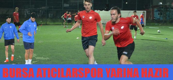 Bursa Atıcılar Spor hazırlıklarını tamamladı