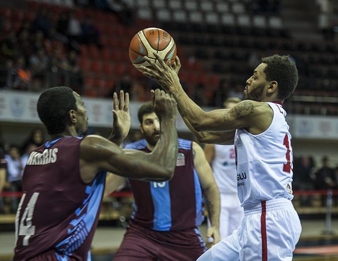 Gaziantep Basketbol: 84 - Trabzonspor: 95
