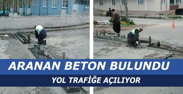 ARANAN BETON BULUNDU