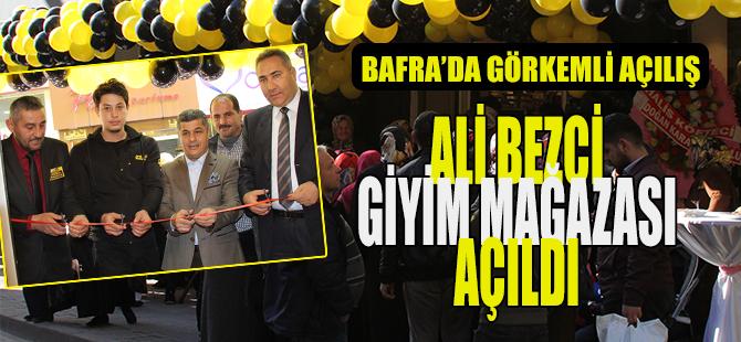 Ali Bezci'ye Görkemli Açılış