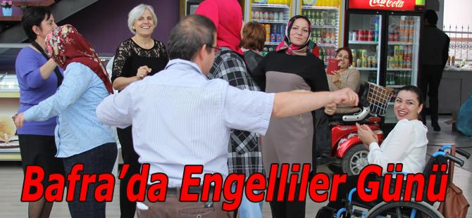 Bafra'da 3 Aralık Engelliler Günü