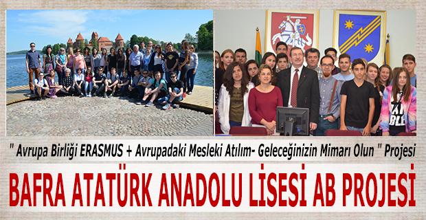 BAFRA ATATÜRK ANADOLU LİSESİ AB PROJESİ