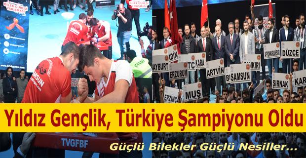 Yıldız Gençlik Türkiye Şampiyonu Oldu