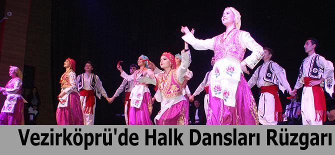 Vezirköprü'de Halk Dansları Rüzgarı