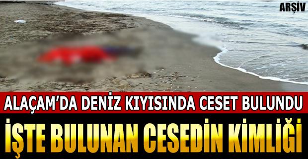 Alaçam'da Deniz Kenarında Kadın Cesedi Bulundu