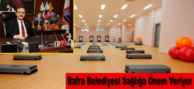 Bafra Belediyesi Sağlığa Önem Veriyor