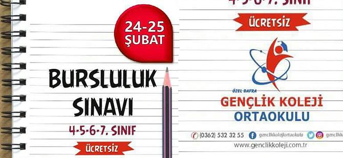Gençlik Okullarından Ücretsiz Sınav