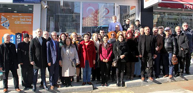 İYİ Parti Mehmetçik İçin Kan Bağışladı