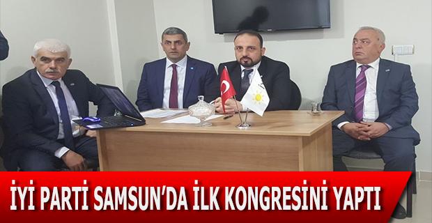 İyi Parti Samsun'da İlk Kongresini Yaptı