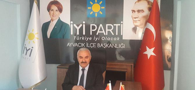 İYİ Parti Ayvacık'ta kongresini yapıyor