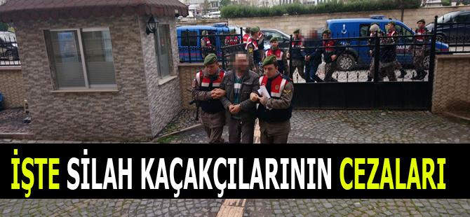İşte Silah Kaçakçılarına tutuklama