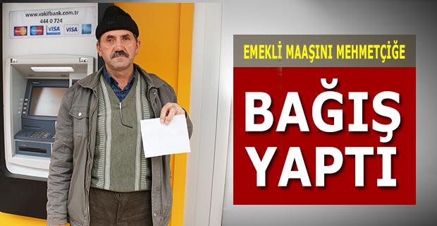 Osman Altunay Emekli Maaşını Bağışladı