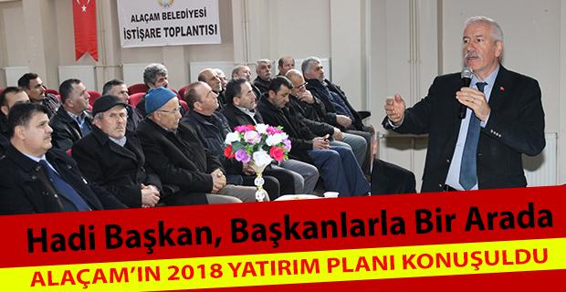 Mahalle Başkanları İstişare Toplantısı