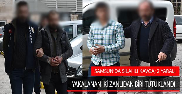 Samsun'da Silahlı Kavga; 2 Yaralı