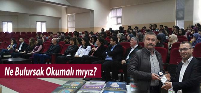 """Ahmet Kökdemir : """"Ne Bulursak Okumalı mıyız?"""""""
