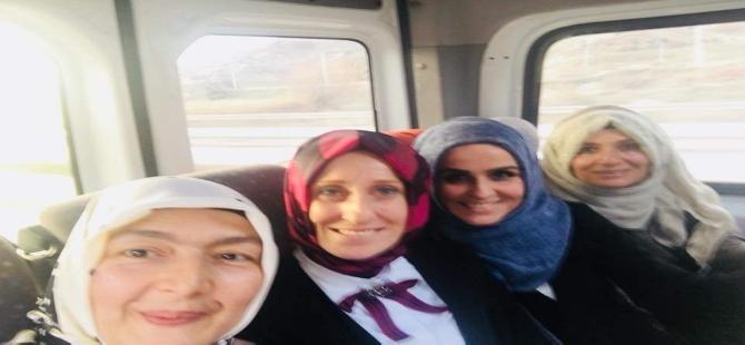 Ak parti kadın kollarında görev değişimi