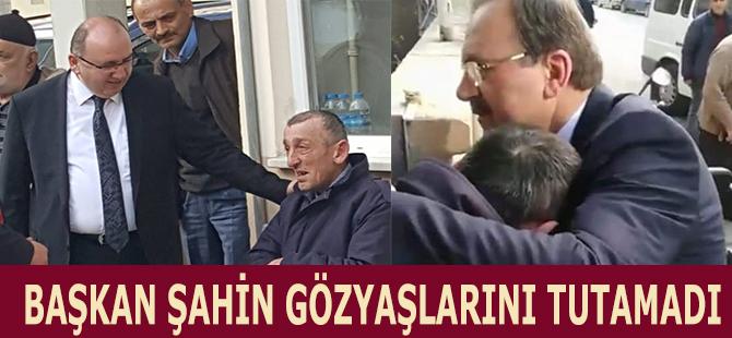 BAŞKAN ŞAHİN'DEN BABA ŞEFKATİ