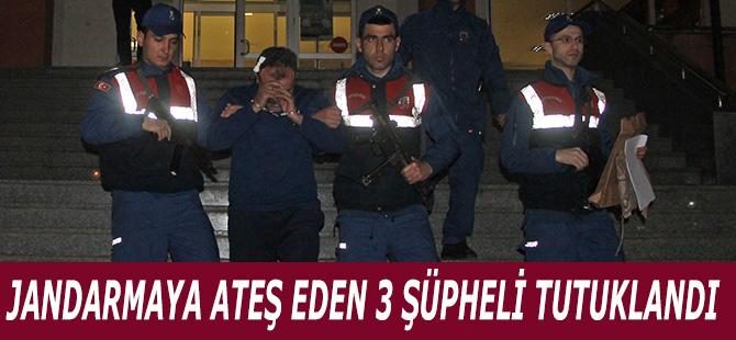 Jandarmaya Ateş Eden 3 Şüpheli Tutuklandı