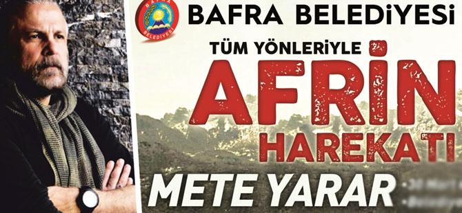 Mete Yarar Bafra'ya Geliyor