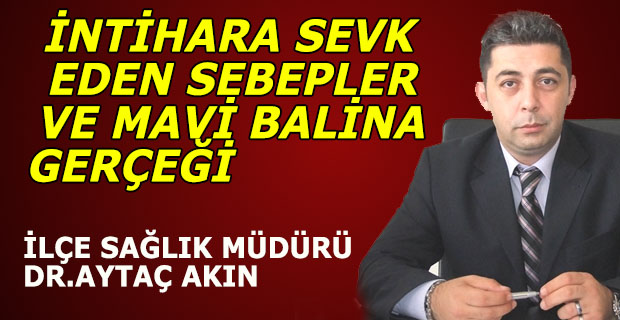 İNTİHARA SEVK EDEN SEBEPLER VE MAVİ BALİNA GERÇEĞİ